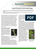 Soybean Yield Component During R1 to R4 Growth Stages - TDA - Spotlight
