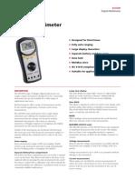 Megger Avo300 Digital Multimeter Catiii 600v