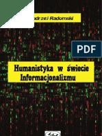 Humanistyka w świecie Informacjonalizmu