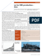 Coal Gasification for DRI Production –an Indian Solution