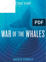 War of the Whales by Josh Horwitz (Excerpt)