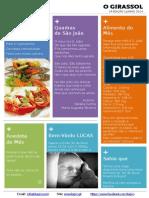 """Jornal """"O Girassol"""" - 1a Edição Junho 2014"""