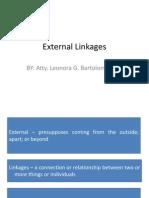 9-Local Gov. Adm - External Linkages