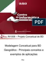 Modelagem Conceitual Para BD Geografico - Principais Conceitos e Exemplos