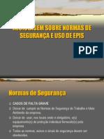 Apresentaç¦o uso EPI