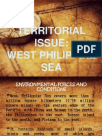 Territorial Issue-West Philippine Sea