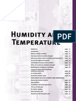 Humidity and Temperature