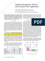 (2011 Nice) Automated Synthesis Design Flow of LDO and Buck Convertor Ckt