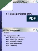 1-1Basic Principle of PV(Day1)