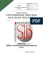 Pla-di-02 Directiva Diseño y Elaboracion de Diagramas de Flujo v 1