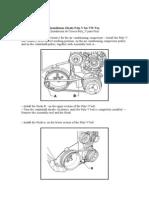 Installation Elastic Poly-V for VW Fox