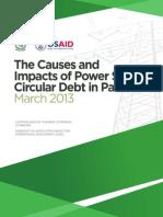 Final_USAID-Pakistan Circular Debt Report-Printed Mar 25, 2013