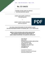 NEA Brief - Lightfoot 11th Amendment