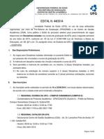 Original Edital - Disciplina Isoladas