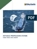 En SkySails Product Brochure