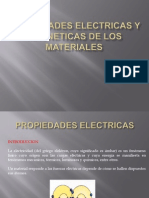 Propiedades Electricas y Magneticas de Los Materiales