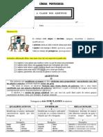 Adjetivos Adjetivos - Ficha de Trabalho
