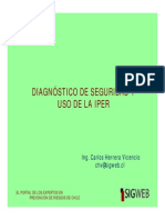 Diagnostic o Seguridad i Per