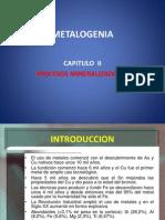 Capitulo II. Procesos Mineralizadores