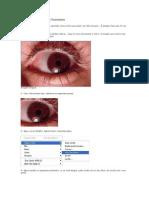 Colorindo Um Olho Humano