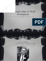 Kohlberg's stages of Moral Development