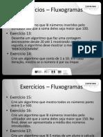Exercicios Fluxo Ciclos