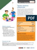 Ficha 20 Tejidos Artesanales