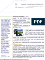 Introducción a La Informática.manual de Informática Básica, El Ordenador, El Hardware y El Software.iniciacion a Informatica