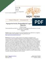 Segregacion Social y Desigualdad Educativa