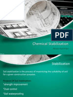 Chemical Stabilization