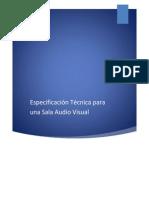 Especificación Técnica para una Sala Audio Visual.docx