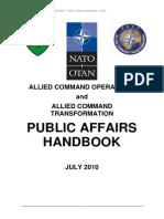 NATO Handbook Public Affairs 2010