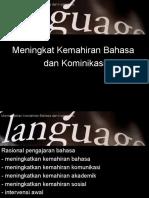 Meningkatkan Kemahiran Bahasa Dan Kominikasi