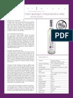 13_SB_Fact_S2013 Tangent Winery Sauvignon Blanc, Paragon Vineyard, Edna Valley Tech sheet
