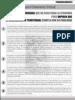Pronunciamiento de la Plataforma para el Ordenamiento Territorial