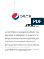 Pepsi Story Marketing Strategies Applies