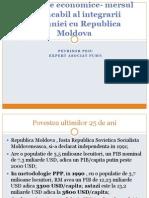 Evolutiile economice- mersul implacabil al integrarii Romaniei cu Republica Moldova (Petrisor Peiu)