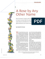 A Rose by Any Other Name is Rose