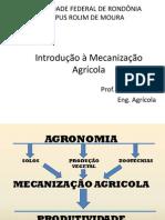 Introdução à Mecanização Agrícola