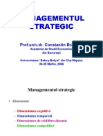 Management Strategic
