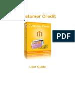 Customer Credit Magento Extension