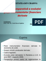 Evolutia Pietei de Instrumente Financiare Derivate