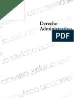 Diccionarios Juridicos Tematicos Vol. 3 Derecho Administrativo - Rafael I. Martinez Morales