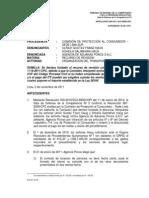 Indecopi - Jurisprudencia Cobro de Costos