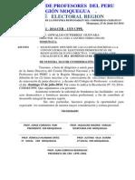 Listas Habilitadas - Región Moquegua