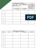 Cartomancy Chart Vazio