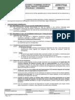 DB-VSA-016 Evaluaciones y Exámenes Escritos Parciales Finales y Rezagados - USIL - Agosto13