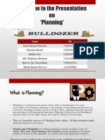 Presentation On Planning