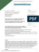 Index de Enfermería - Cómo Escribir Un Caso Clínico en Enfermería Utilizando Taxonomía NANDA, NOC, NIC
