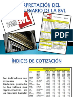 Boletín Diario de La BVL